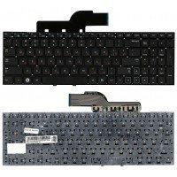 Клавиатура для ноутбука Samsung NP300E5A, NP300V5A, NP305V5A, NP305E5 (RU) без рамки, черная [10003]