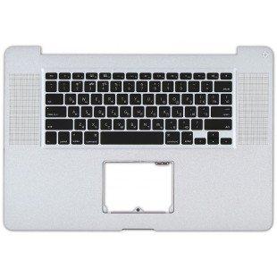Клавиатура для ноутбука Apple Macbook A1297 черная топ-панель