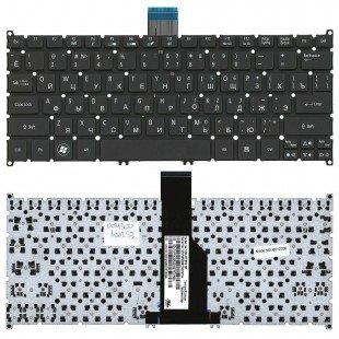 Клавиатура для ноутбука Acer Aspire S3, S5 One 725 756 AO725 AO756, V5-171 (RU) черная, без рамки [10077]