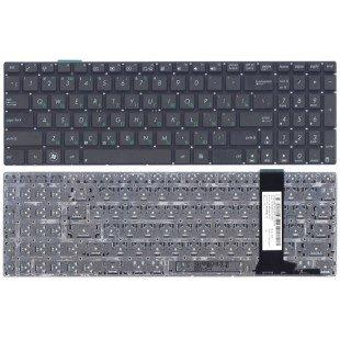 Клавиатура для ноутбука Asus N56 N56V N76 N76V (RU), маленький Enter, черная [10089]