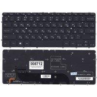 Клавиатура для ноутбука DELL XPS 12, 13, 13R, 13Z, L321X, L322X черная с подсветкой