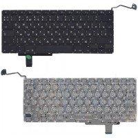Клавиатура для ноутбука Apple Macbook A1297 черная, большой Enter