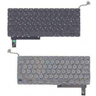 Клавиатура для ноутбука Apple A1286 с SD большой ENTER RU original