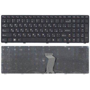 Клавиатура для ноутбука Lenovo G580, G580A, G585, G585A, Z580, Z580A, Z585, Z780 (RU) черная [10030]