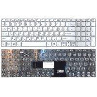 Клавиатура для ноутбука Sony FIT 15 SVF15 (RU) белая [10213]