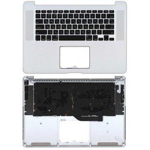 Клавиатура для ноутбука Apple MacBook Pro A1398 топ-панель (2012, Early 2013)
