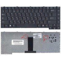 Клавиатура для ноутбука LG LE50 черная