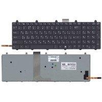 Клавиатура для ноутбука MSI GE60 GE70 с подсветкой черная без рамки