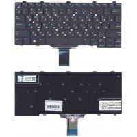 Клавиатура для ноутбука Dell e5250 e7250 черная без подсветки