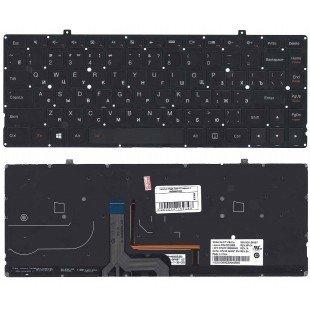 Клавиатура для ноутбука Lenovo Yoga 2 pro 13 черная с подсветкой