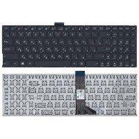 Клавиатура для ноутбука Asus K501, A501 черная с подсветкой