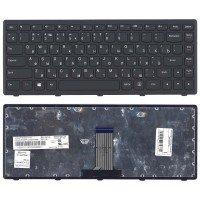 *SALE* Клавиатура для ноутбука Lenovo IdeaPad Flex 14, G400s, G405S, S410P, G410S черная с черной рамкой [10225]
