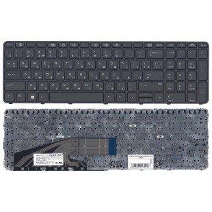 Клавиатура для ноутбука HP ProBook 450 G3 455 G3 470 G3 черная с рамкой