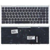 Клавиатура для ноутбука Sony Vaio VGN-FW черная с рамкой