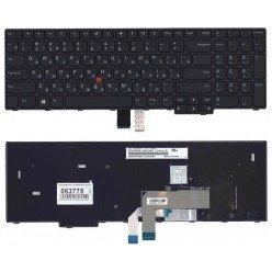 Клавиатура для ноутбука Lenovo ThinkPad E570 E575 черная