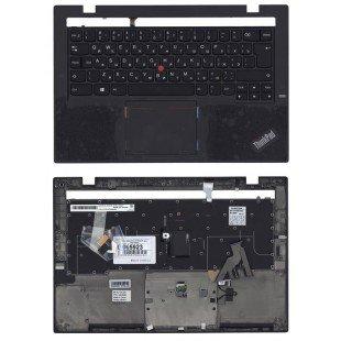 Клавиатура для ноутбука Lenovo ThinkPad X1 carbon Gen 2 2014 топ-панель черная с подсветкой