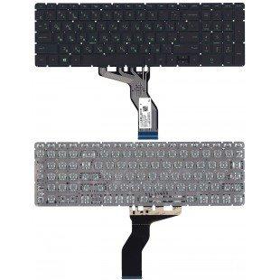 Клавиатура для ноутбука HP Pavilion Power 15-cb000 черная с подсветкой