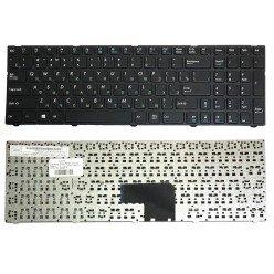 Клавиатура для ноутбука DNS 0170702,  0170703, 0170704, 0170705, 0800931 (RU) черная [10232]