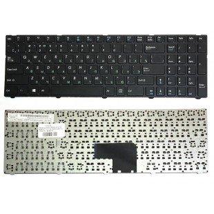 Клавиатура для ноутбука DNS 0170702,  0170703, 0170704, 0170705, 0800931 (RU) черная