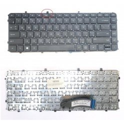 *слом кр* Клавиатура для ноутбука HP ENVY 4-1000 (RU) черная с рамкой [10333]