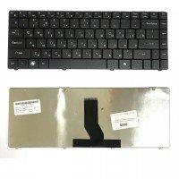 Клавиатура для ноутбука DNS 0135740, 0199722, AESW6700110 черная (RU) [9909]