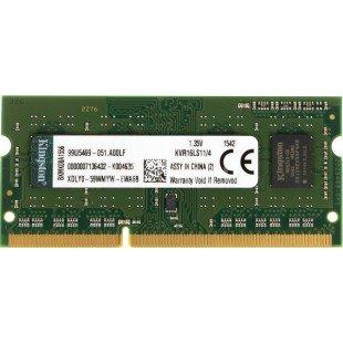 Оперативная память SODIMM 4Gb (1600Mhz) DDR3L Kingston KVR16LS11/4, новая