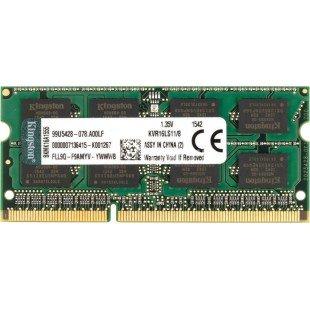 Оперативная память SODIMM 8Gb (1600Mhz) DDR3 KINGSTON KVR16LS11/8, новая