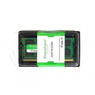 Оперативная память SODIMM 4Gb (1600Mhz) DDR3L Avanshare, новая