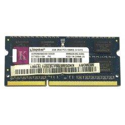 *Б/У* Оперативная память SODIMM 2Gb (1333MHz) DDR3 Kingston ACR256X64D3S1333C9 PC3-10600S-9-10-F0 [BUR0001-13], с разбора