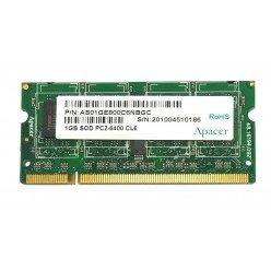 *Б/У* Оперативная память SODIMM 1Gb (800MHz) DDR2 Apacer AS01GE800C6NBGC PC2-6400S [BUR0001-37], с разбора