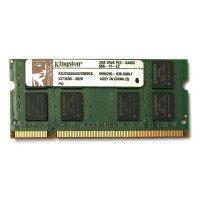 *Б/У* Оперативная память SODIMM 2Gb (800MHz) DDR2 Kingston ASU256X64D2S800C6 2R*8 PC2-6400S-666-12-E2 [BUR0108-27], с разбора