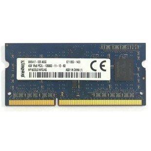 *Б/У* Оперативная память SODIMM 4Gb (1600MHz) DDR3 Kingston HP16D3LS1KFG/4G 1R*8 PC3-12800S-11-12-B3, с разбора
