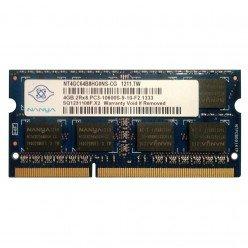 *Б/У* Оперативная память SODIMM 4Gb (1333MHz) DDR3 Nanya NT4GC64B8HG0NS-CG PC3-10600S-9-10-F2.1333 [BUR0001-5], с разбора