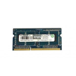 Оперативная память SODIMM 1GB (1333MHz) DDR3 RAMAXEL RMT1950ED48E7F-1333 PC3-10600S-999, с разбора
