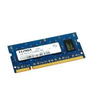 *Б/У* Оперативная память SODIMM 1Gb (800MHz) DDR2 Elpida EBE11UE6AESA-8G-F PC2-6400S-666 [BUR0001-54], с разбора
