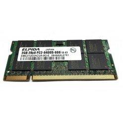 *Б/У* Оперативная память SODIMM 2Gb (800MHz) DDR2 Eplida EBE21UE8ACUA-8G-E 2R*8 PC2-6400S-666-12 [BUR0001-69], с разбора