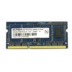 *Б/У* Оперативная память SODIMM 2Gb (1333MHz) DDR3 Elpida EBJ20UF8BCS0-DJ-F PC3-10600S-9-10-B2 [BUR0001-41], с разбора