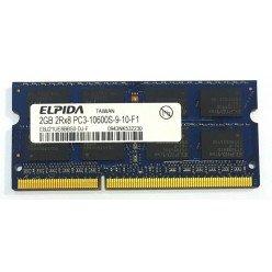 *Б/У* Оперативная память SODIMM 2Gb (1333Hz) DDR3 Elpida EBJ21UE8BBS0-DJ-F PC3-10600S-9-10-F1 [BUR0001-22], с разбора