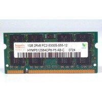 *Б/У* Оперативная память SODIMM 1Gb (667MHz) DDR2 Hynix HYMP512S64CP8-Y5 PC2-5300S-555-12 [BUR0001-45], с разбора