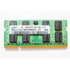 *Б/У* Оперативная память SODIMM 2Gb (800MHz) DDR2 Samsung M470T5663EH3-CF7 2R*8 PC2-6400S-666-12-E3 [BUR0001-84], с разбора