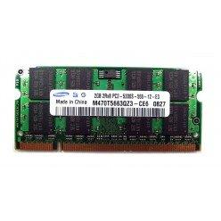 *Б/У* Оперативная память SODIMM 2Gb (667MHz) DDR2 Samsung M470T5663QZ3-CE6 2R*8 PC2-5300S-555-12-E3 [BUR0001-85], с разбора
