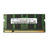 *Б/У* Оперативная память SODIMM 2Gb (800MHz) DDR2 Samsung M470T5663QZ3-CF7 2R*8 PC2-6400S-666-12-E3 [BUR0108-11], с разбора
