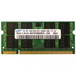 *Б/У* Оперативная память SODIMM 2Gb (667MHz) DDR2 Samsung M470T5663RZ3-CE6 2R*8 PC2-5300S-555-12-E3 [BUR0001-86], с разбора