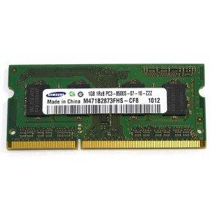 *Б/У* Оперативная память SODIMM 1GB (1066MHz) DDR3 Samsung M471B2873FHS-CF8 1R*8 PC3-8500S, с разбора