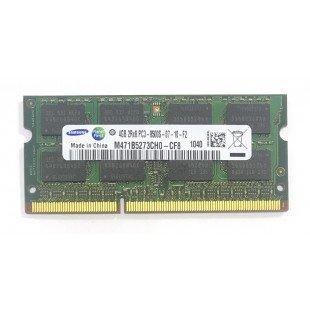 Оперативная память SODIMM 4Gb (1066MHz) DDR3 Samsung M471B5273CH0-CF8 2R*8 PC3-8500S-07-10-F2, с разбора