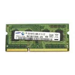 *Б/У* Оперативная память SODIMM 2Gb (1066MHz) DDR3 Samsung M471B5773CHS-CF8 PC3-8500S-07-10-ZZZ [BUR0001-63], с разбора