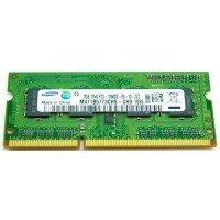 *Б/У* Оперативная память SODIMM 2Gb (1333MHz) DDR3 Samsung M471B5773CHS-CH9 1R*8 PC3-10600S-09-10-ZZZ [BUR0059-16], с разбора