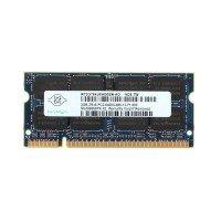 *Б/У* Оперативная память SODIMM 2Gb (800MHz) DDR2 NANYA NT2GT64U8HD0BN-AD 2R*8 PC2-6400S-666-13-F1 [BUR0001-49], с разбора