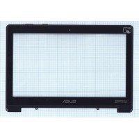 Сенсорное стекло (тачскрин) для Asus VivoBook S301LA S301 черный с рамкой