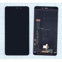 Модуль (матрица + тачскрин) для Xiaomi Redmi Note 4 черный [6513]